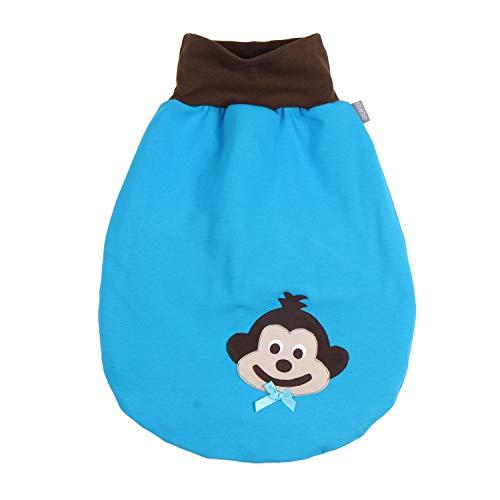 Lilakind' - Saco de dormir para bebé (verano, invierno, sin cremallera), color azul fucsia Forro de color azul. M