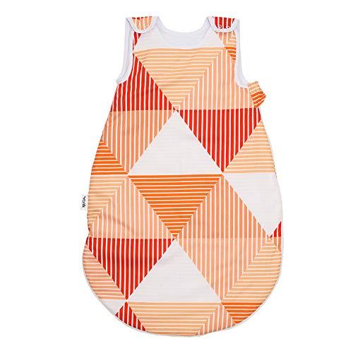 Arlette Naranja Pati'Chou 100% Algodón Sacos de dormir para bebés 12-24 meses (90 cm, 4 tog) - invierno