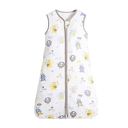 XKMY Saco de dormir para bebé, saco de dormir para bebé, chaleco con cremallera, saco de dormir transpirable para niños pequeños (color: S6 saco de dormir, tamaño para niños: 0-6 meses)