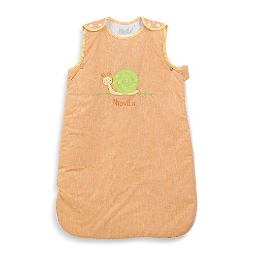 NioviLu Saco de dormir para bebé - Escargot rigolo (6-18 meses / 90 cm - 1 Tog)