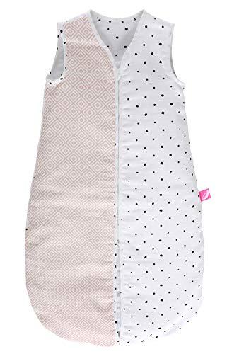 Motherhood - Saco de dormir para bebé (muselina de algodón, clase 1, 6-18 meses), color naranja