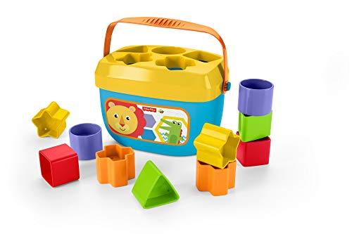 Fisher-Price Bloques infantiles, juguete bloques construcción para bebé +6 meses (Mattel FFC84)