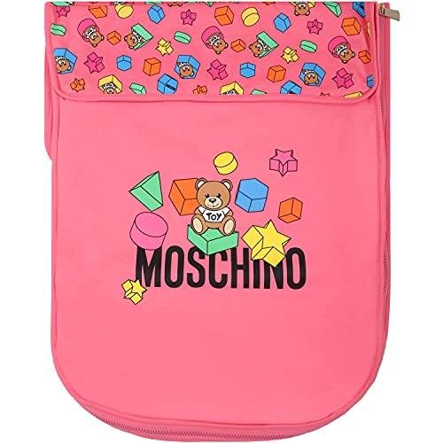 Moschino - Saco de dormir Fucsia para bebé con Teddy Bear - Un/OS, Fucsia